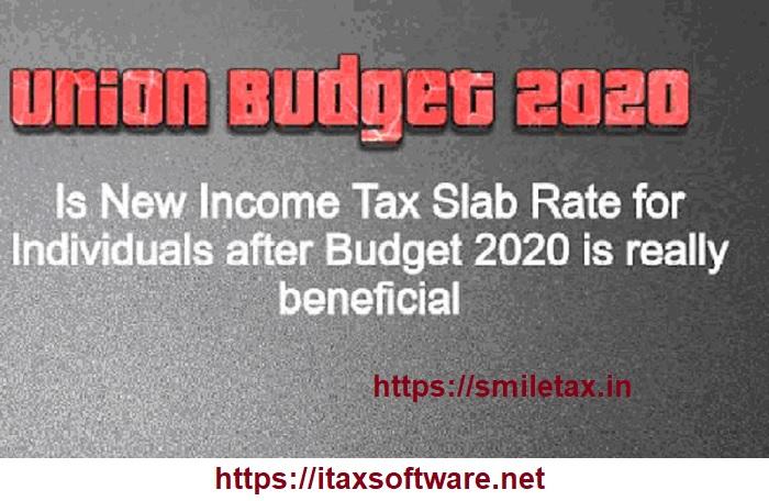 Income Tax New Slab Rate as per Budget 2020